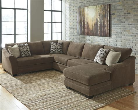3 piece sectional sofa with chaise benchcraft justyna contemporary 3 piece sectional with