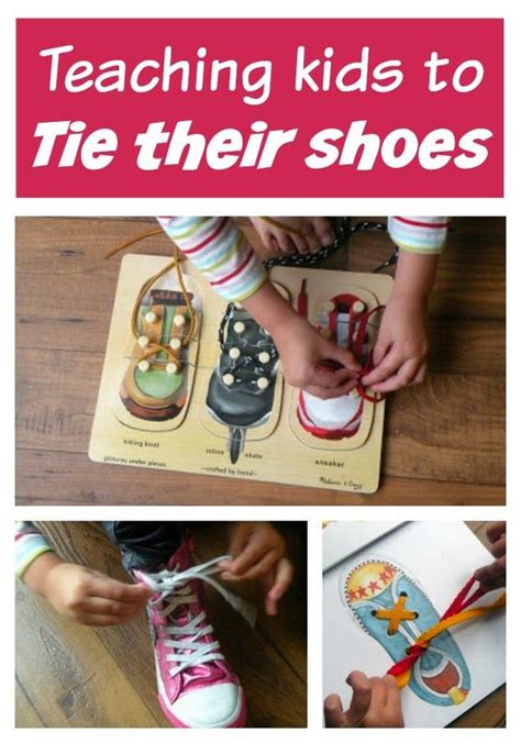 how to teach a kid to tie their shoes our favorite book for tying laces motor toddlers