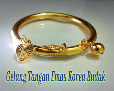 Gelang Tangan Korea Gt154 gelang tangan budak emas korea 3 end 10 24 2017 6 15 pm