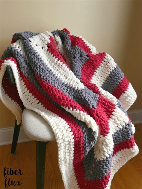 Crochet Throw Blanket Pattern by Fiber Flux Free Crochet Pattern Snow Berries Throw