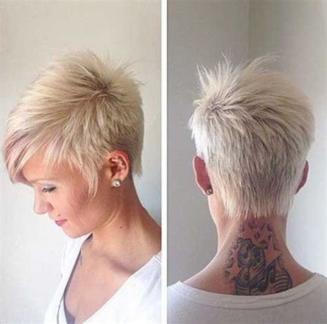short hairstyles with razor cuts in the back 15 short razor haircuts short hairstyles haircuts 2017
