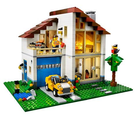 house creator online lego 31012 lego creator family house το σπίτι της