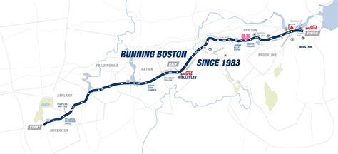 boston marathon route map boston marathon 2016 promarathon