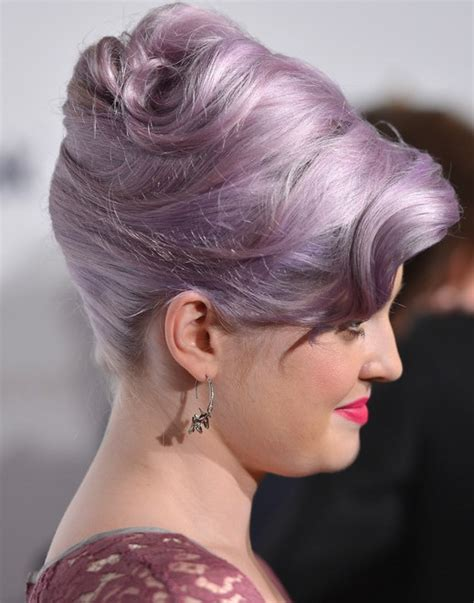 updo hairstyles high kelly osbourne hairstyles elegant high updos popular