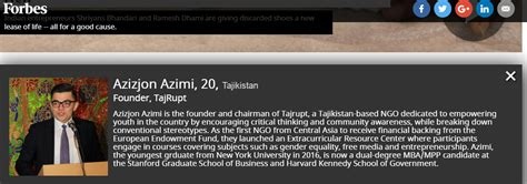 Mba Mpp Dual Degree by Our Placed On Forbes 30 30 Success List