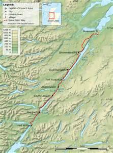 file great glen way map en svg wikimedia commons