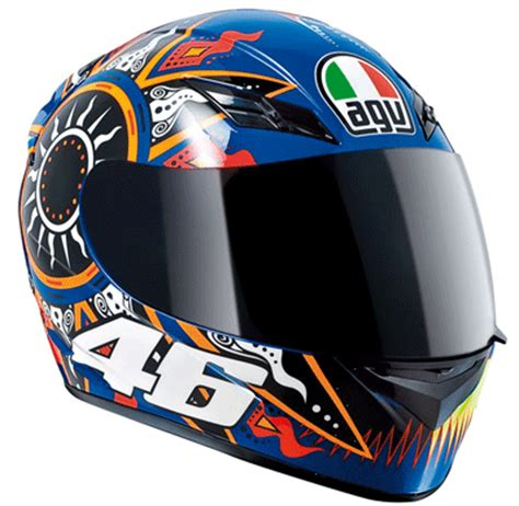 design helmet motogp agv k3 rossi motogp helmet blue valentino rossi helmets