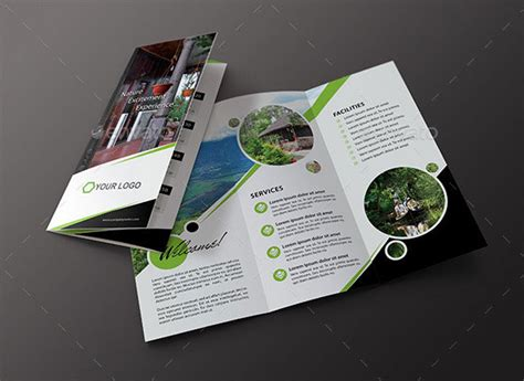 two fold brochure template psd 25 top notch psd tri fold brochure templates for business