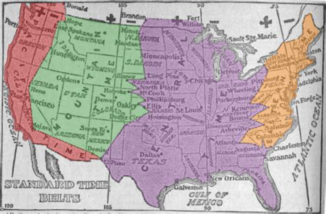 map of usa showing different time zones oc proposed simplified time zone map of the united