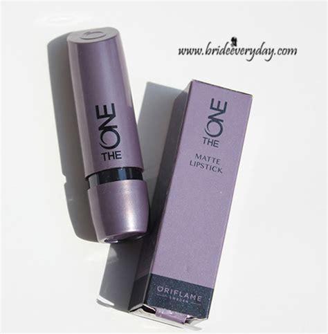 Lipstik Oriflame Matte oriflame the one matte lipstick review swatches