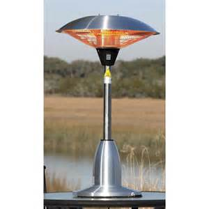 Outdoor Electric Patio Heaters Table Top Patio Heater 1500 Watt Stainless Indoor Outdoor Electric Halogen