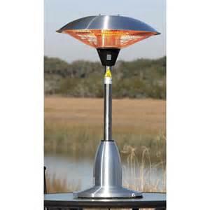 Table Top Patio Heater 1500 Watt Stainless Indoor / Outdoor Electric