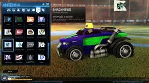 how to equip a community flag in rocket league shacknews