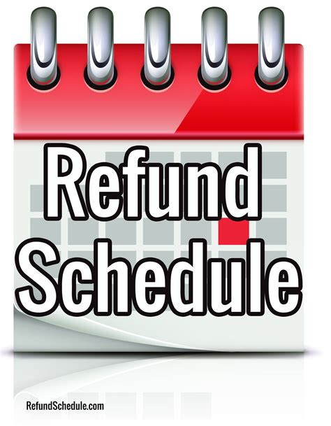 irs refund schedule 2015 tax refund where s my refund
