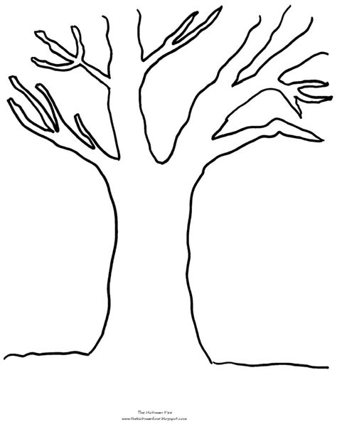 Coloring Pages Coloring Pages Tree Fall Tree Coloring Coloring Pages 808