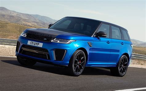 2019 Range Rover Sport by 2019 Land Rover Range Rover Sport Svr Specifications The