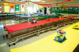 decorations for elementary school cafeteria