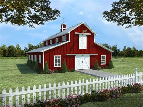 country barn plans garage barn w apartment plan 141 1300 1 bedrm