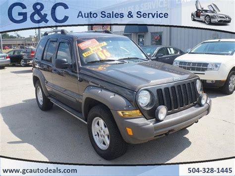 Jeeps For Sale In La Jeep Liberty For Sale In Louisiana Carsforsale