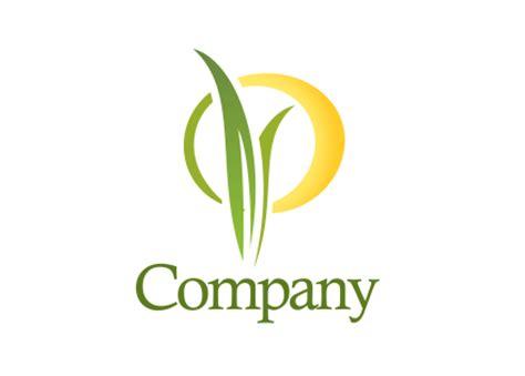 Mugs Design Plant Sunrise Logo Design