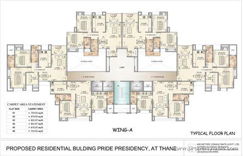 icu floor plan gala pride presidency luxuria thane west thane