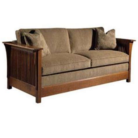 Roycroft Bookcase Stickley Oak Mission Classics Twin Size Fayetteville Sofa