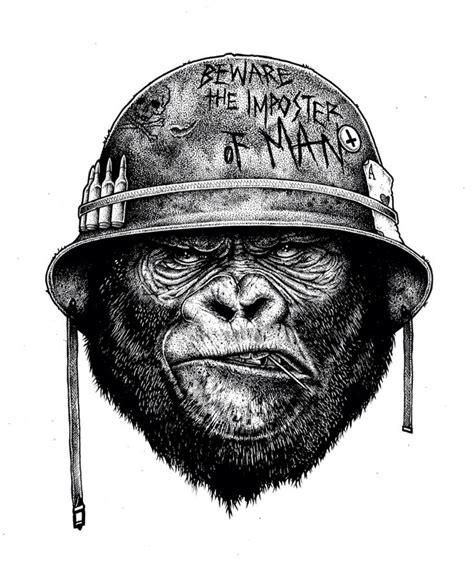 tattoo of us gorilla best 25 gorilla tattoo ideas on pinterest mens sleeve