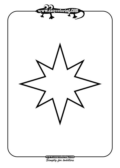 star shapes printable clipart best