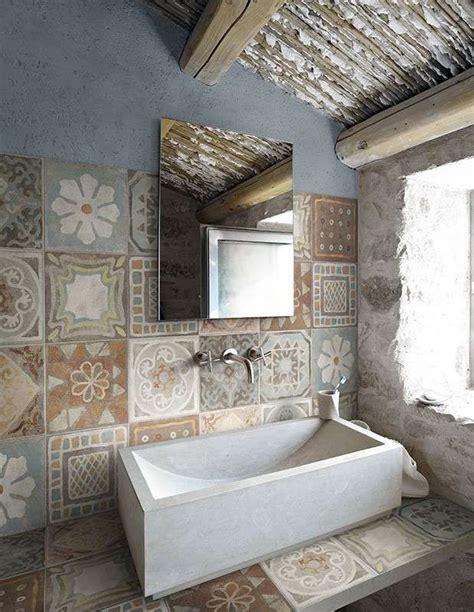 piastrelle bagno rustico piastrelle per il bagno rustico panaria memory mood