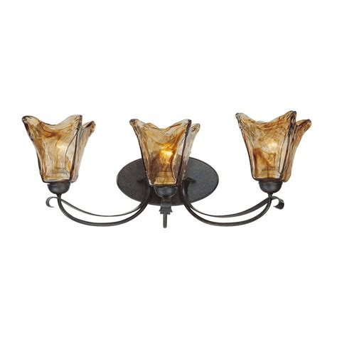 shop millennium lighting 3 light chatsworth burnished gold