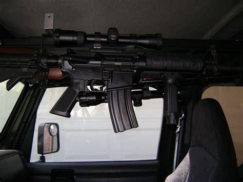 Jeep Rifle Rack Jeep Overhead Gun Rack The Rack For Jeep Cj S