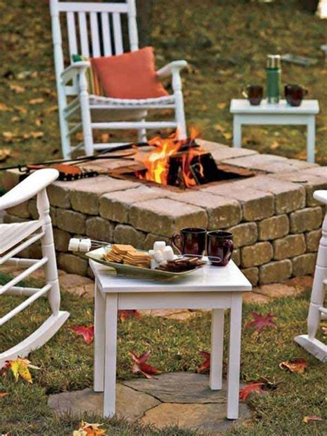 Diy Brick Firepit 38 Easy And Diy Pit Ideas Amazing Diy Interior Home Design
