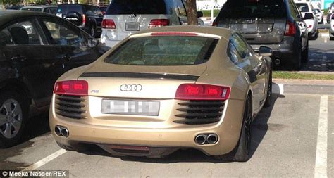 retail price of audi r8 oligarch convention no this is the student car park at