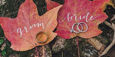Fall Wedding by 10 Of Our Favorite Fall Wedding Ideas Huffpost
