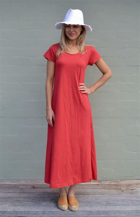100 organic cotton australia organic cotton t shirt dress s ruby organic