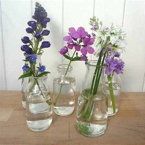 Glass Milk Bottle Vase by Milk Bottle Glass Vases For Flowers Cosy Home