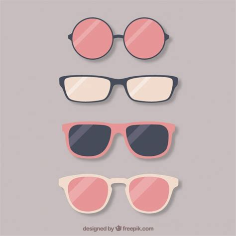 Kacamata Big Frame Simple Design Raf65c lovely glasses collection vector free