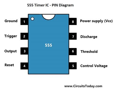 lm555 timer pinout wiring diagrams wiring diagram schemes