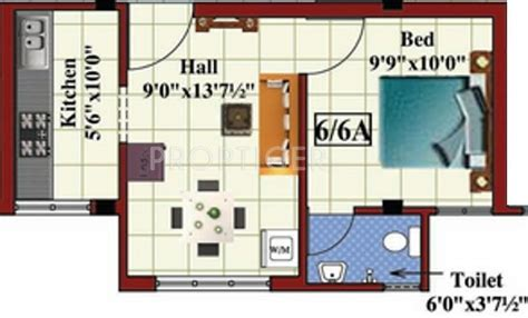 415 sq ft 415 sq ft 415 sq ft 1 bhk 1t apartment for sale in a p