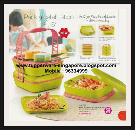 Tupperware Celebration Set 2pcs Permen buy tupperware in singapore tupperware catalogue from 12 august to 30 september 2016