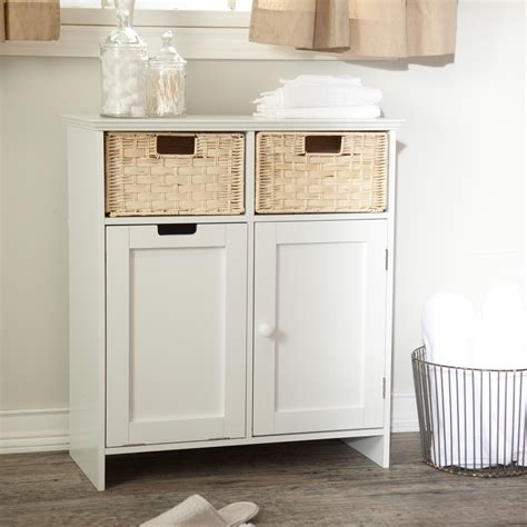 White Wooden Bathroom Storage Floor Cabinet For Bathroom Storage With Cool Small White Wooden Nurani