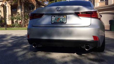 2014 lexus is 350 f sport exhaust system part 1