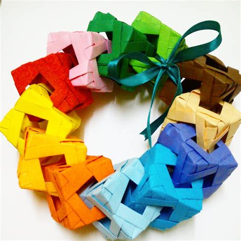 Origami Cube Ring - origami kirigami favourites by cerenimo on deviantart