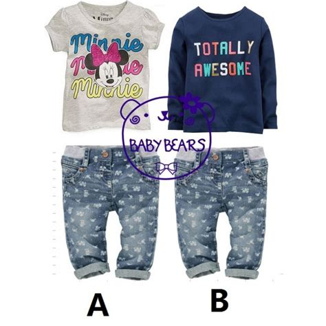 Baby Bears 3 In1shirt2 Pcs Pant baby bears 2 pcs set top amanda luvly closet