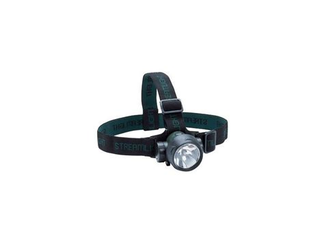 streamlight hat lights streamlight trident headl with 2 white and 1 green led