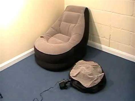 intex chair tesco intex lounge chair with ottoman footstool one