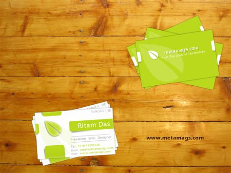 designskool exhaustive collection of free business card