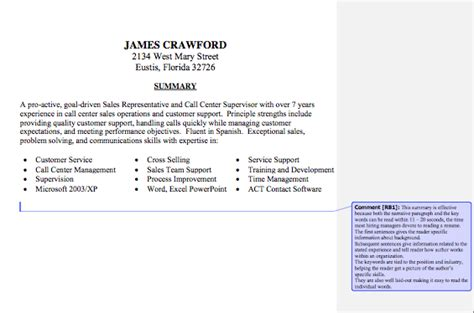 resume statement best template collection
