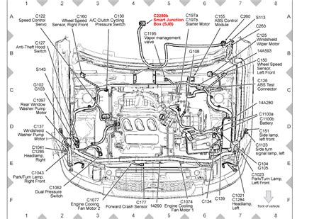 location of 2008 ford escape smart junction box location