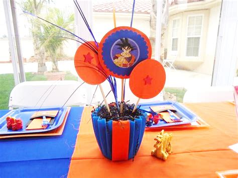 decoracion con esferas de dragon ball z un cumple de dragon ball z 161 kame hame ha tips de madre 174